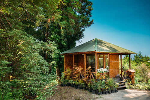 Garden shed / office
